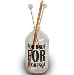 GARRAFA 16X8 FRASE FLORESÇA