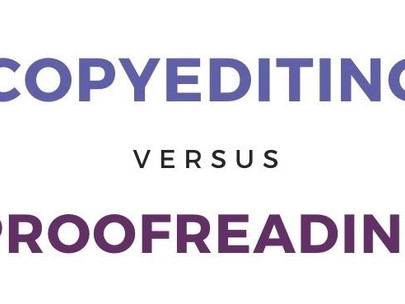 Copyediting and Proofreading: What's the Difference?