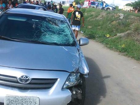 Homem morre após ser atropelado na BR-116, enquanto atravessava via
