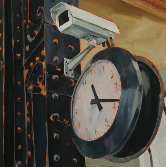 YOKO NISHIO Bem-te-vi 1 | 2017 Óleo sobre tela 50 x 50 cm