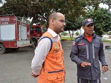 Defesa Civil recebe quase 40 solicitações após chuvas em Feira