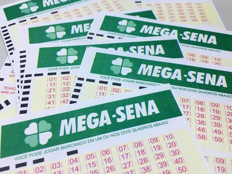 Única aposta leva prêmio de R$ 104 milhões da Mega-Sena
