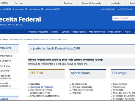 Mais de 180 mil contribuintes da Bahia já enviaram declaração do IR