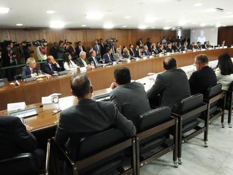 Temer anuncia R$ 42 bi em crédito para segurança dos estados