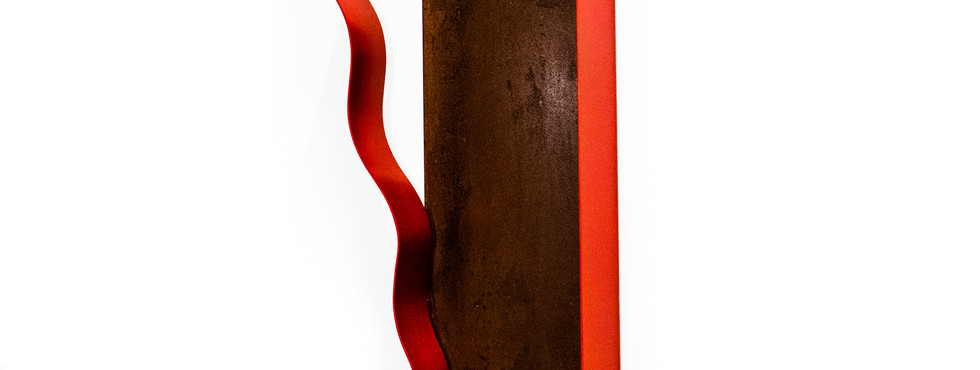 Sem título   2018 Escultura / Sculpture Ferro / Iron 80 x 25 cm