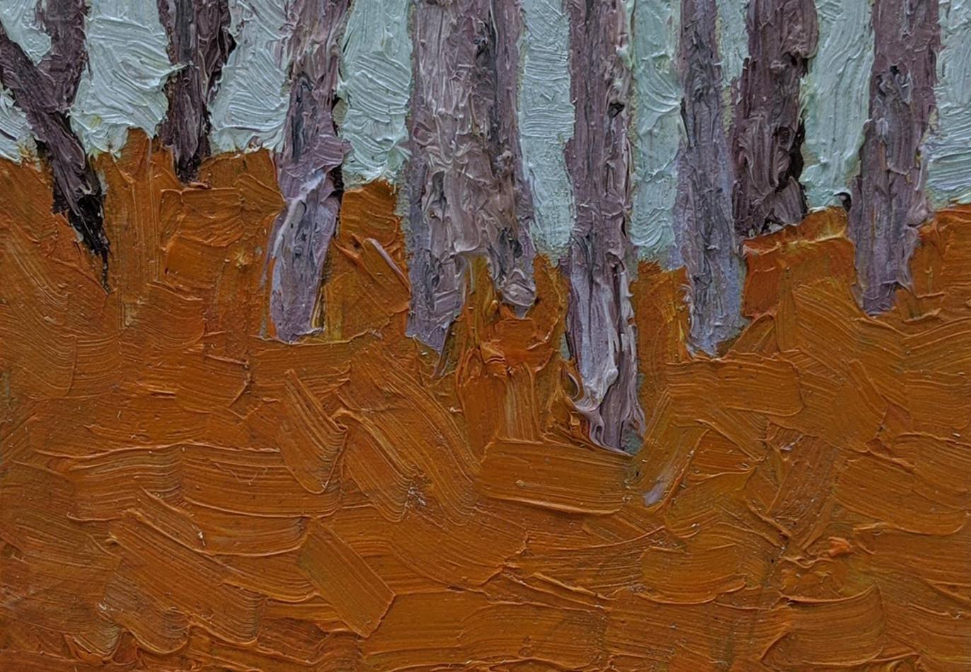 Mini Floresta   2018  Óleo sobre tela 20 x 20 cm