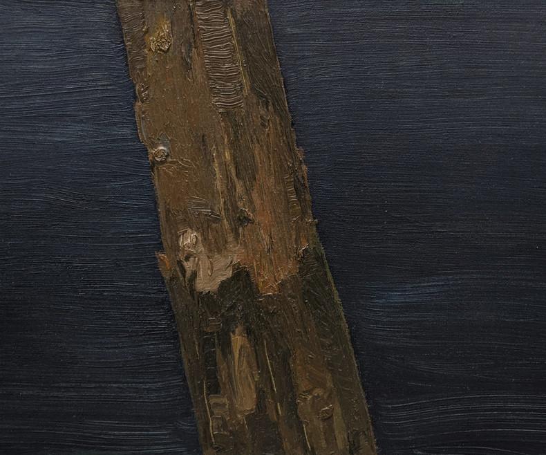 Sem título | 2019  Óleo sobre linho  24 x 30 cm