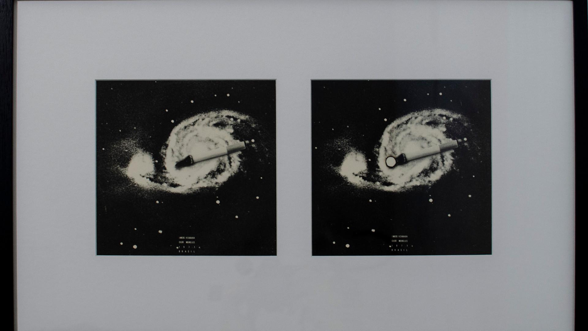 CILDO MEIRELES Mebs - Caraxia | 1970-1971 Disco compacto em vinil com capa em offset sobre papel 18 x 18 cm (cada) Acervo do artista