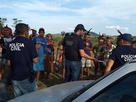 Polícia faz operação em fazendas da família de Geddel que foram invadidas por índios
