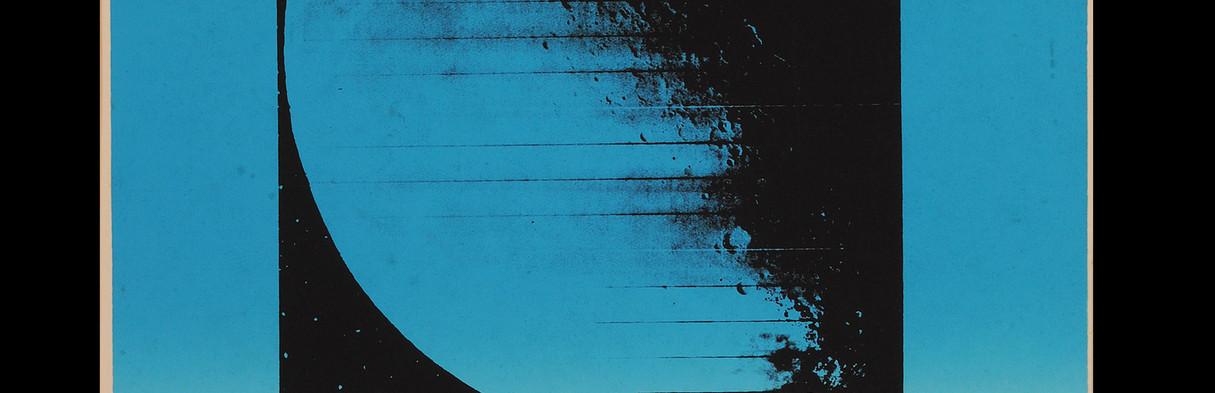 ANNA BELLA GEIGER Série Lunar I | 1973 Gravura 63 x 51 cm (com moldura) Edição 42/50