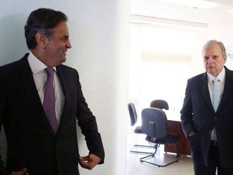 Aécio Neves destitui Tasso Jereissati da presidência do PSDB
