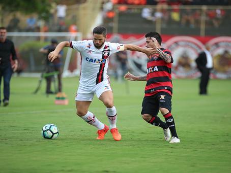 Vitória perde para o Flamengo, mas permanece na Série A
