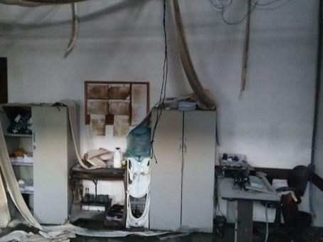 Fogo destrói documentos que eram analisados pela PF em Camaçari