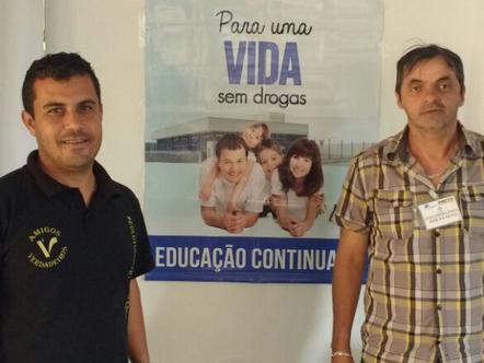 Equipe Água Viva participa de curso de Monitor