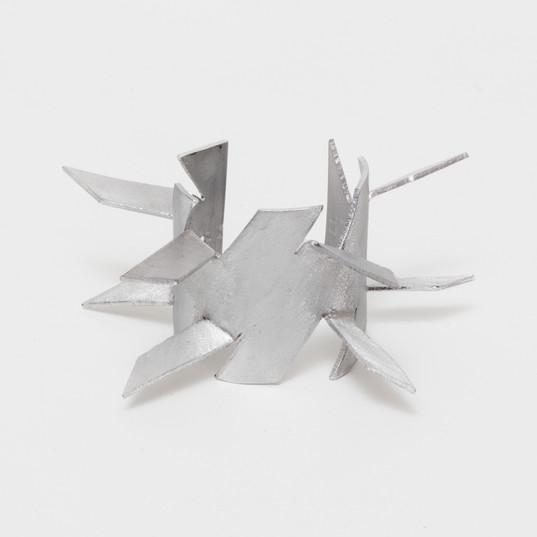 LYZ PARAYZO Braceletes Lança | 2018 (Conjunto de duas peças) Alumínio Dimensões variáveis