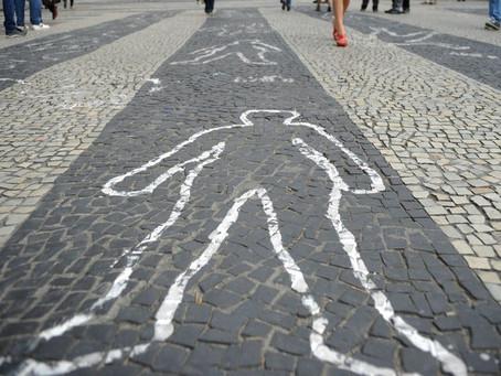 Número de mortes aumenta 24,7% em dez anos no Brasil