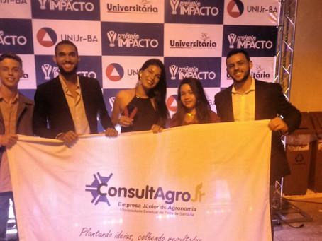 Empresa Júnior de Agronomia da Uefs conquista prêmio estadual