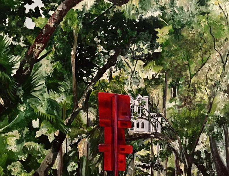 Floresta do Parque | 2017 Óleo e tinta acrílica sobre tela/ ? 57 x 79cm
