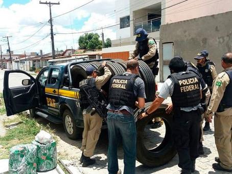 PRF e PF desarticulam quadrilha de roubo de pneus que atuava em rodovias da Bahia
