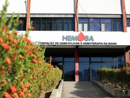 Inscrições para o concurso do Hemoba terminam nesta quinta-feira (15)