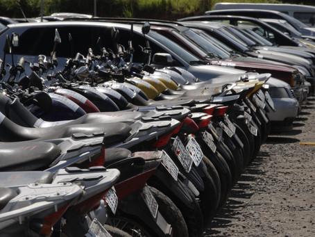 Detran-Ba promove leilão de veículos nesta sexta