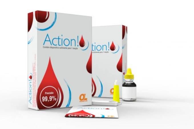 Kit de teste rápido de HIV/AIDS