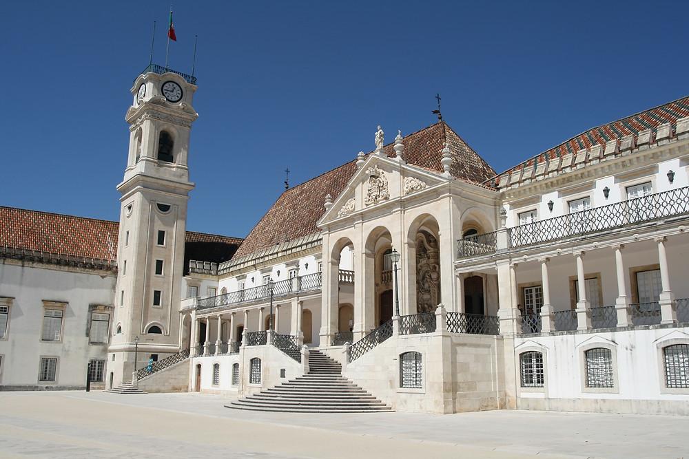 Universidade de Coimbra, em Portugal.