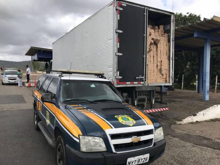 Carga roubada avaliada em R$ 500 mil é recuperada na BR-116