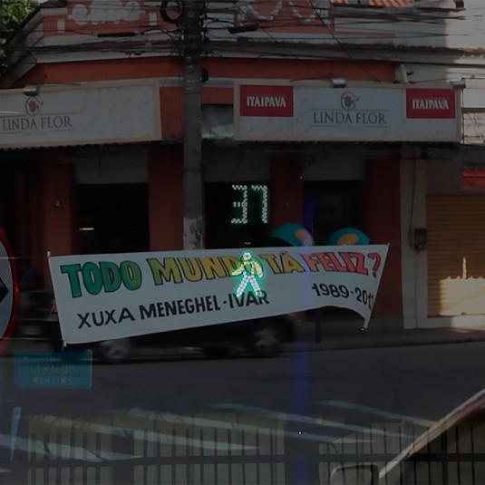 Ivar Rocha  O Mundo Locomotiva Se Esfacela | 2013  Vídeo , 58''   Tiragem: 1/3 + 1 P.A.