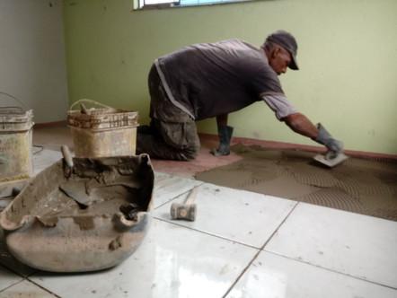 Ampliação do escritório Água Viva é realizada por ex-acolhido