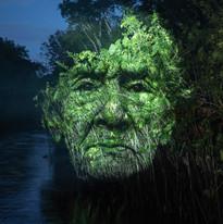 ROBERTA CARVALHO    Submersa   2019 Da Série Projeto Symbiosis   Intervenção orientada para fotografia  50 x 28 cm