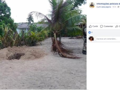 Casal é achado em cova no quintal da própria casa; mulher foi estuprada antes de ser morta