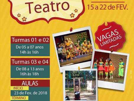 Cuca abre inscrições para oficinas de circo-teatro para crianças