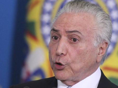 Temer fará exames urológicos em São Paulo nesta quarta (13)
