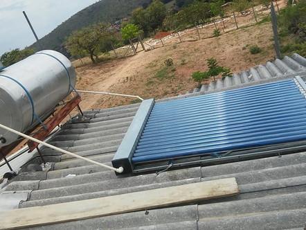 Empresa de energia solar de São João del Rei instala placas na Água Viva