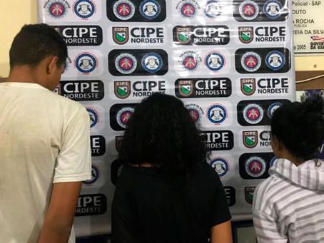 Adolescentes de 13 e 14 anos são apreendidos com drogas em Ribeira do Pombal