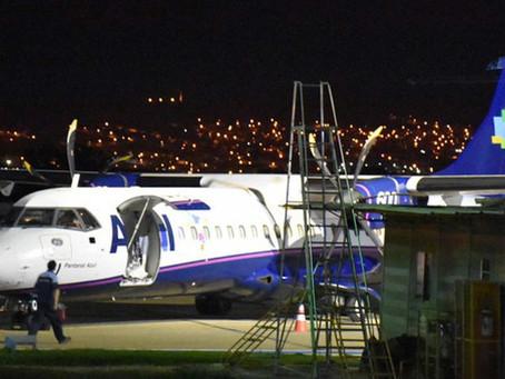 Piloto pede prioridade de pouso por pane elétrica em avião
