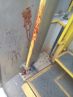 Momentos de terror em tiroteio durante assalto a coletivo em Feira de Santana