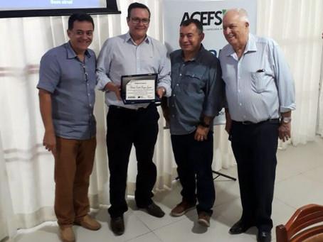 Secretário Borges Júnior é homenageado por instituições do Comércio