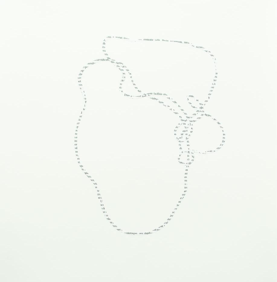 Sem título (Unidade tripartida)   2018 Colagem sobre papel 49,5 x 39,5 cm