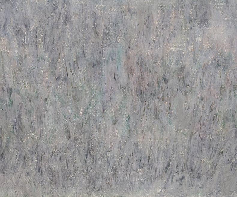 Sem título | 2019  Bastão a óleo sobre linho 23 x 29 cm