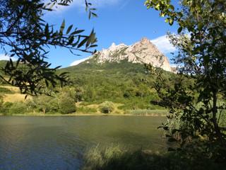 Heat, hard work and the dreamy lake