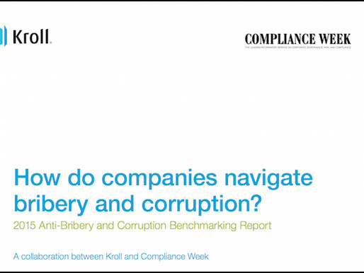 Benchmarking Bribery & Corruption: Compliance Progress & Frustration