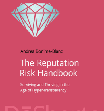 Corruption, Reputation & Risk: An Interview with Andrea Bonime-Blanc