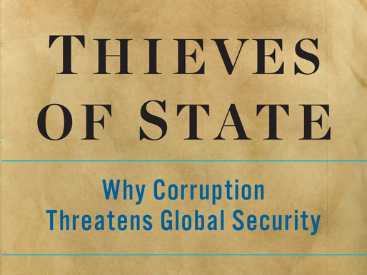 Corruption, Compliance & Criminal Regimes: An Interview  with Sarah Chayes