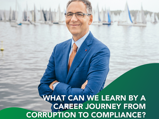 """Join me with MentorCore in """"What Can We Learn By A Career Journey From Corruption To Compliance!"""""""