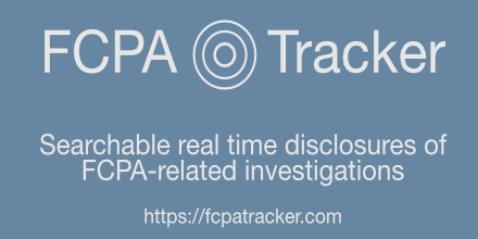 Can one really track the FCPA?
