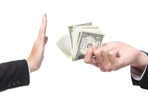 """Corruption & Procurement: Bribery """"Thrives in the Dark."""""""