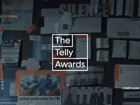 Compliance Corner: Silver Telly Award Winner for Corporate Training in the 42nd Annual Telly Award!