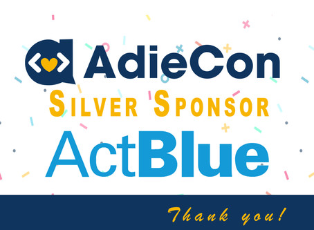 Welcome Silver Sponsor ActBlue